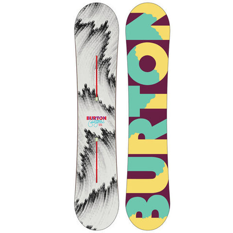 BURTON WOMENS FEELGOOD FLYING V SNOWBOARD - 2015 - Boardwise