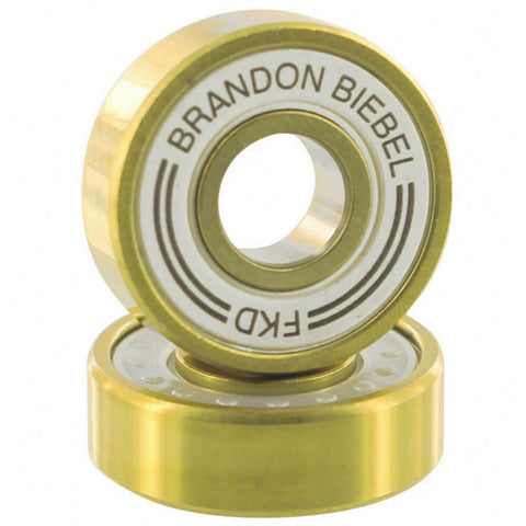 FKD BIEBEL PRO GOLD SKATEBOARD BEARINGS