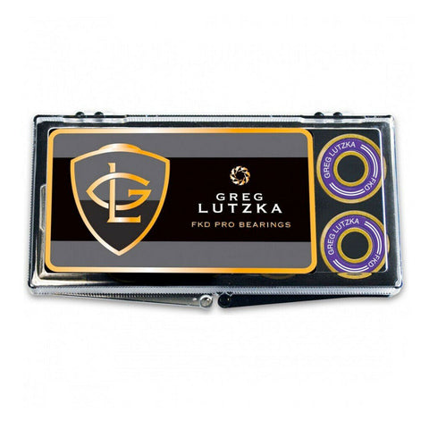 FKD LUTZKA PRO GOLD SKATEBOARD BEARINGS