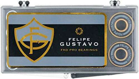FKD GUSTAVO PRO GOLD SKATEBOARD BEARINGS