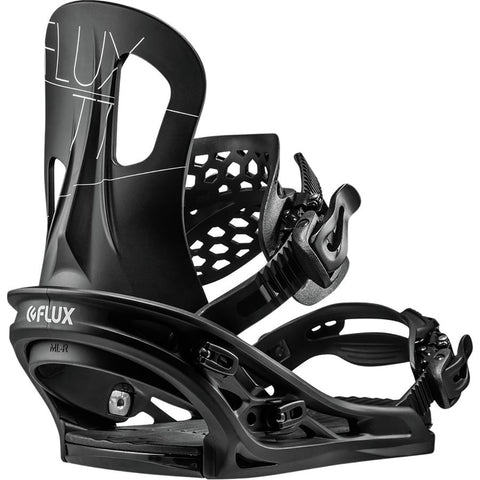 FLUX TT SNOWBOARD BINDINGS - BLACK - 2019 - Boardwise