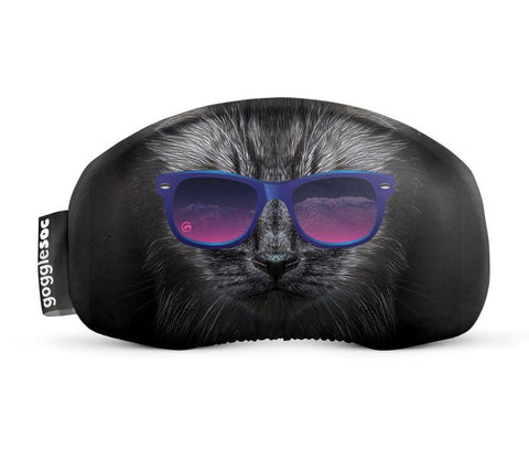 GOGGLESOC GOGGLE COVER - BAD KITTY - Boardwise