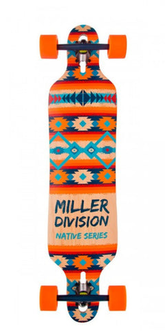 MILLER NATIVE SERIES LONGBOARD COMPLETE - Boardwise
