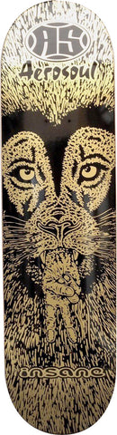 INSANE EMPORIUM CO LAB AEROSOUL PEACEFUL LION - SKATEBOARD DECK