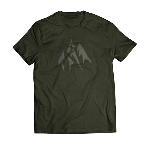 JONES MOUNTAIN JOURNEY T-SHIRT - GREEN