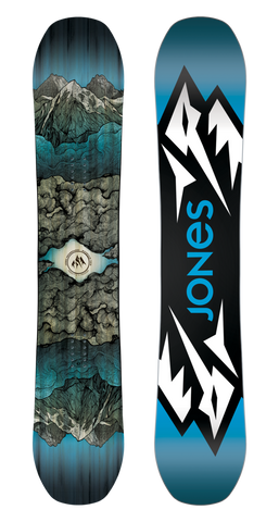 JONES MOUNTAIN TWIN WIDE SNOWBOARD - 2019