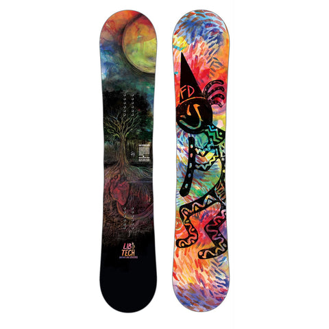LIB TECH BOX SCRATCHER BTX SNOWBOARD - 2019