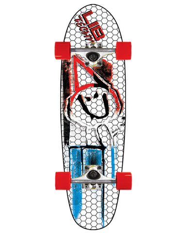LIB TECH POLY CRUISER SKATEBOARD COMPLETE