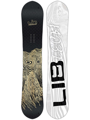 LIB TECH SKATE BANANA BTX WIDE SNOWBOARD - WOOD - 2019 - Boardwise