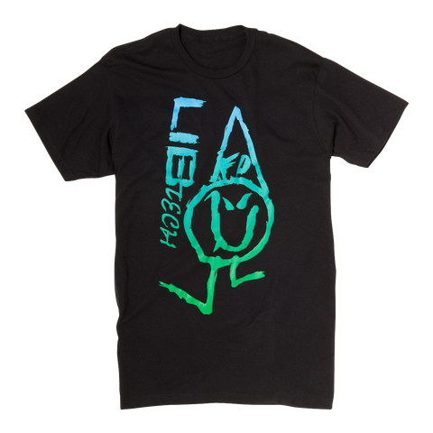 LIB TECH INK FADER T-SHIRT - BLACK