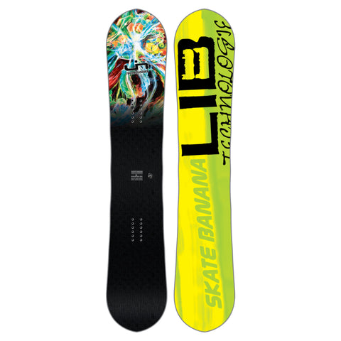LIB TECH SK8 BANANA PARILLO WIDE SNOWBOARD - 2018