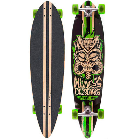 MINDLESS TRIBAL ROGUE II CRUISER - GREEN -  SKATEBOARD COMPLETE