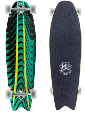 MINDLESS ROGUE SWALLOW TAIL LONGBOARD -  SKATEBOARD COMPLETE - Boardwise