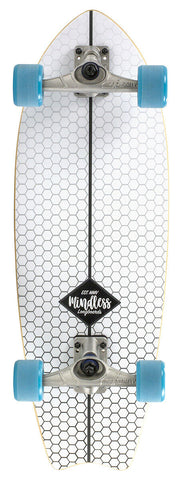 MINDLESS SURF SKATE FISH TAIL - SKATEBOARD COMPLETE