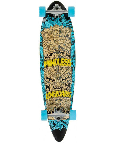 MINDLESS TRIBAL ROGUE IV CRUISER - BLUE -  SKATEBOARD COMPLETE