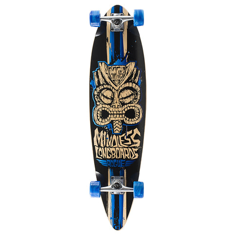 MINDLESS TRIBAL ROGUE II LIMITED EDITION LONGBOARD SKATEBOARD COMPLETE - Boardwise