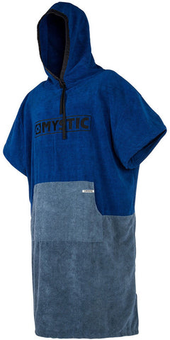 2017/18 Mystic Drying Hooded Poncho Navy Grey
