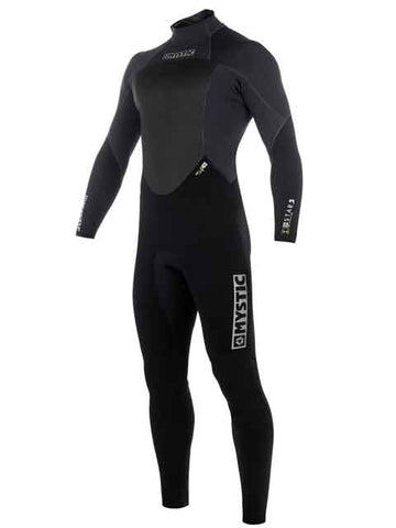 2019 Mystic Star 3/2MM GBS Mens Summer Wetsuit Black