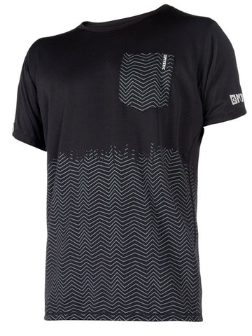 2018 Mystic Voltage Quickdry Rash Tee Black