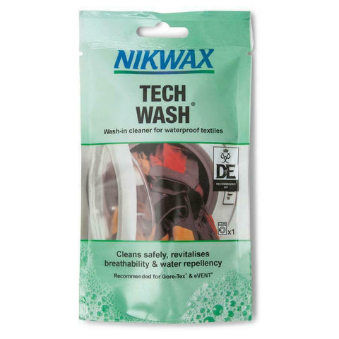 NIKWASH TECH WASH 100ML POUCH - Boardwise