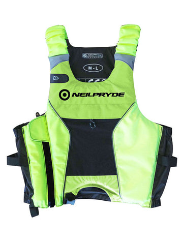 Neil Pryde Elite High Hook Bouyancy Vest High Visibility