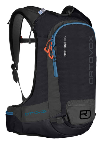 ORTOVOX FREE RIDER 18L BACKPACK - BLACK RAVEN - 2019
