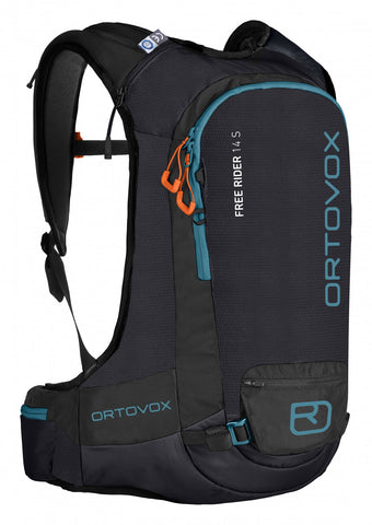 ORTOVOX FREE RIDER 14S BACKPACK - BLACK ANTHRACITE - 2019