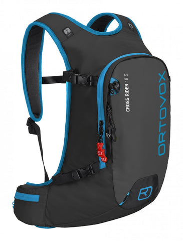 ORTOVOX CROSS RIDER 18S BACKPACK - BLACK ANTHRACITE - Boardwise