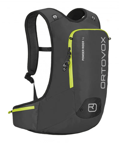 ORTOVOX POWDER RIDER 16 BACKPACK - BLACK - Boardwise