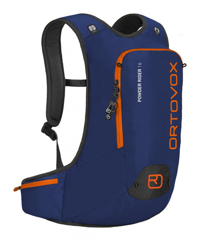 ORTOVOX POWDER RIDER 16 BACKPACK - STRONG BLUE - Boardwise