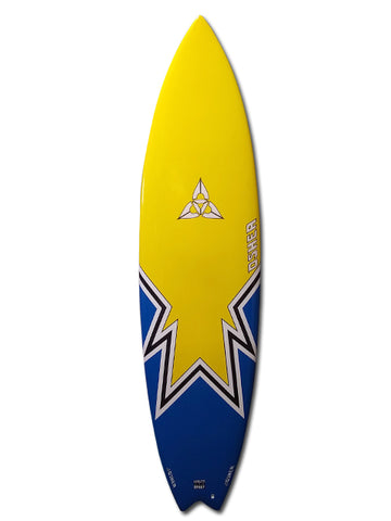 "O'SHEA FAT BOY FLYER 6'11"" SURFBOARD"