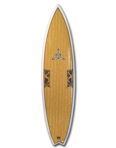 "O'SHEA BIG BOY FLYER 6'11"" SURFBOARD"