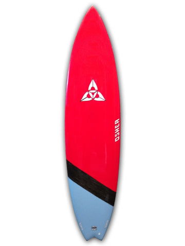 "O'SHEA FAT BOY FLYER 7'2"" SURFBOARD"