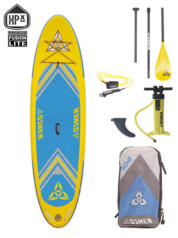 "O'SHEA HPX ISUP 10'6"" Stand Up Paddleboard Package - 2020 - Boardwise"