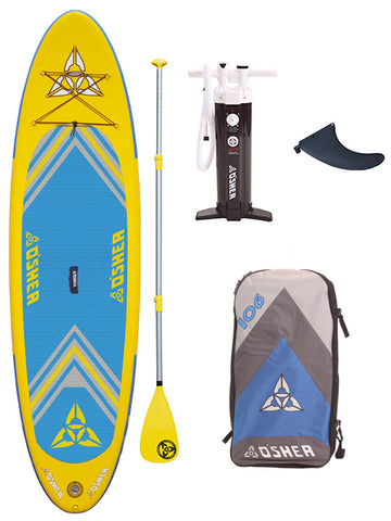 "O'SHEA HPX ISUP 10'6"" Stand Up Paddleboard Package - 2019 - Boardwise"