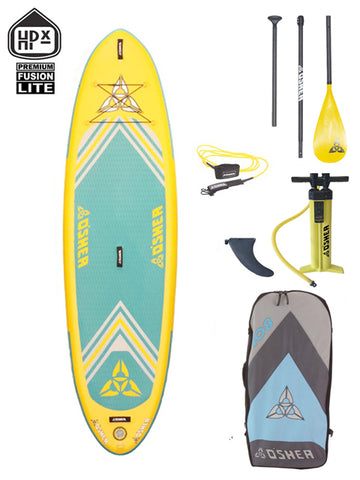 "O'SHEA HPX ISUP 10'8"" Stand Up Paddleboard Package - 2020 - Boardwise"