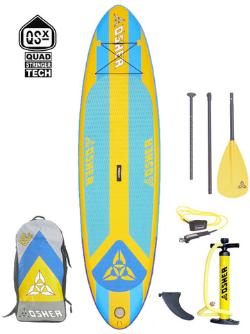 "O'SHEA QSx ISUP 10'2"" Stand Up Paddleboard Package - 2020 - Boardwise"