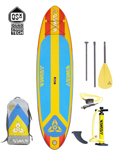 "O'SHEA QSx ISUP 10'6"" Stand Up Paddleboard Package - 2020 - Boardwise"