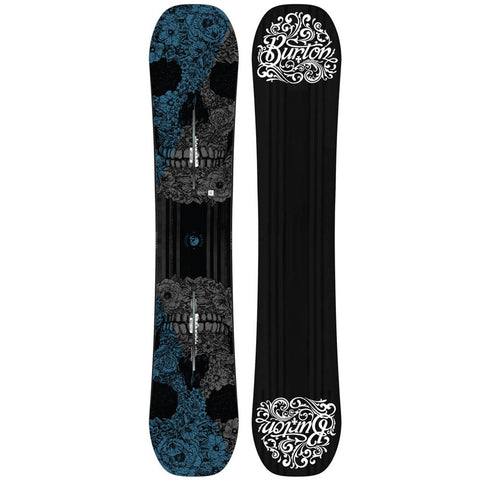 BURTON PROCESS OFF-AXIS SNOWBOARD - 2017 - Boardwise