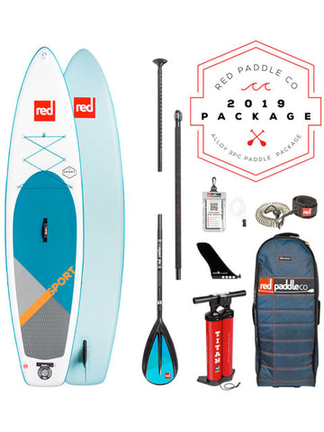 Red Paddle Co. Sport 11' Stand Up Paddleboard Package - 2019