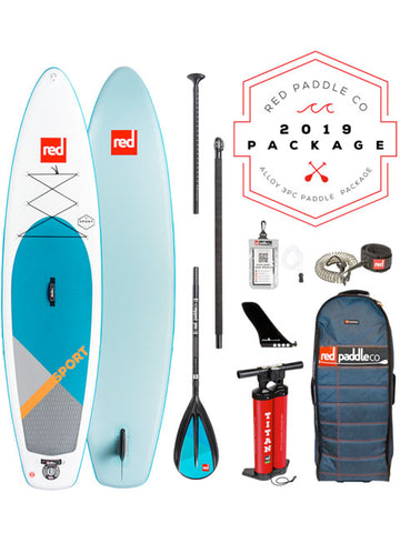 "Red Paddle Co. Sport 11'3"" Stand Up Paddleboard Package - 2019"