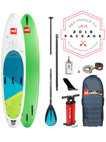 "Red Paddle Co. Voyager 12'6"" Stand Up Paddleboard Package - 2019 - Boardwise"