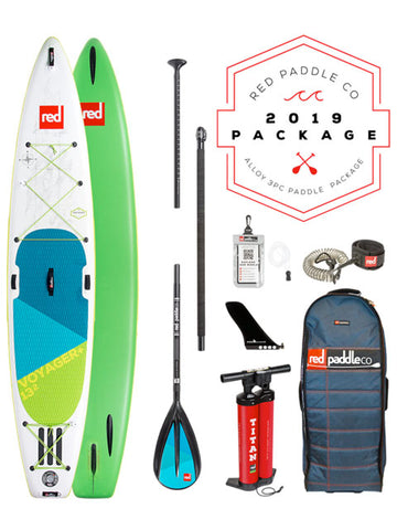 "Red Paddle Co. Voyager 13'2"" Stand Up Paddleboard Package - 2019"