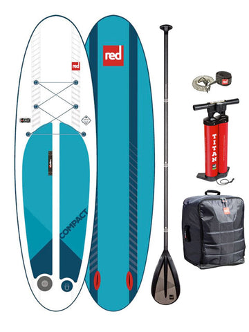 "Red Paddle Co. Ride 9'6""  Compact Stand Up Paddleboard Package - 2019"