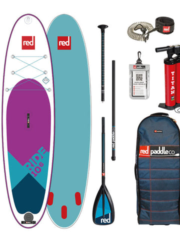 "Red Paddle Co. Ride 10ft 6"" MSL SE Stand Up Paddleboard Package - 2018"