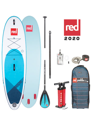 "Red Paddle Co. Ride MSL 9'8"" Stand Up Paddleboard Package - 2020"