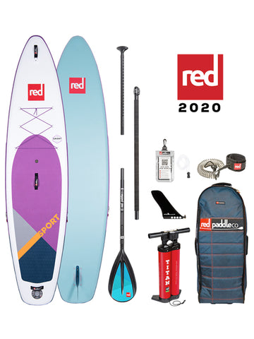 Red Paddle Co. Sport 11'3 Stand Up Paddleboard Package - purple - 2020 - Boardwise