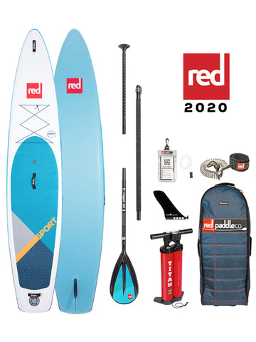 Red Paddle Co. Sport 12'6 Stand Up Paddleboard Package - 2020 - Boardwise
