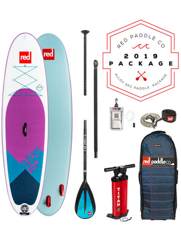 "Red Paddle Co. Ride MSL SE 10'6"" Stand Up Paddleboard Package - 2019"