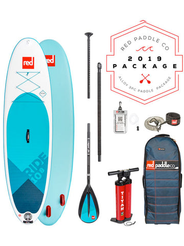 "Red Paddle Co. Ride MSL 10'8"" Stand Up Paddleboard Package - 2019"